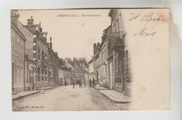 CPA PIONNIERE AUBIGNY SUR NERE (Cher) - Rue Cambournac - Aubigny Sur Nere