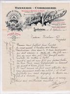 29-L.Vérine Tannerie-Corroierie, Croupons De Bretagne...Landivisiau.   (Finistère) 1928 - Andere