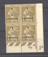 CD  683   -  France  -  Coins Datés  :  Yv  279A  **    18-4-35 - Coins Datés