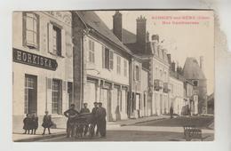CPA  AUBIGNY SUR NERE (Cher) - Rue Cambournac - Aubigny Sur Nere