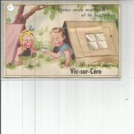 15-VIC SUR CERE CARTE A SYSTEME - France