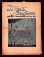 Hergé - Tintin -Le Petit Vingtième N° 17 - 1937 E.O. - L' Ile Noire - Tintin