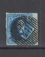 COB 7 Oblitération Distribution D48 ST-LEGER Grand Bord De Feuille - 1851-1857 Medallions (6/8)