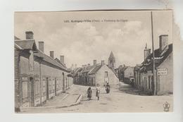 CPSM AUBIGNY SUR NERE (Cher) - Faubourg Du Cygne - Aubigny Sur Nere