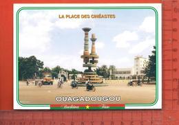CPM  BURKINA FASO OUAGADOUGOU : La Place Des Cinéastes - Burkina Faso