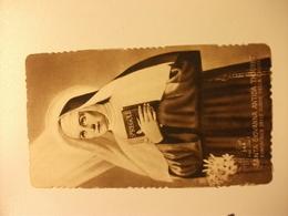 SANTINO HOLY PICTURE IMAGE SAINTE SANTA GIOVANNA ANTIDA THOURET 146 - Religione & Esoterismo