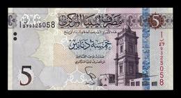 Libia Libya 5 Dinars 2015 (2016) Pick 81 EBC XF - Libia