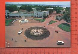CPM  CENTRAFRICAINE BANGUI : Place De La République - Centraal-Afrikaanse Republiek