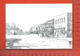 CPM  DJIBOUTI : Rue D'Ethiopie Vers 1900 - Centraal-Afrikaanse Republiek