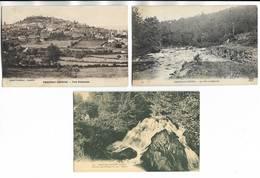 58 - Lot De 3 Cartes Postales Différentes De CHATEAU-CHINON ( Nièvre ) - Scannées - Chateau Chinon