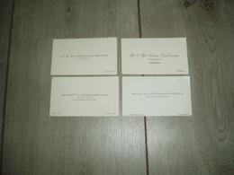 Velaines : Cartes De Visite (maréchal, Laiterie, Boucher, Fermier) - Cartes De Visite