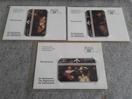 Netherlands - 3 Mint Folder Optical Phonecards Rembrandt - Non Classificati