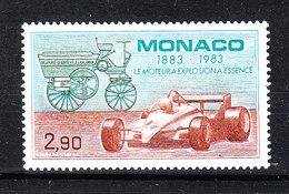 Monaco - 1983. Auto Di F.1  Ed Auto Vintage. F.1 Car And Vintage Car. MNH - Automobilismo