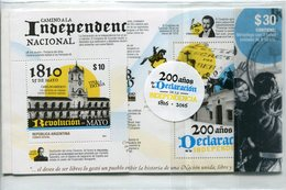 Argentine - 2016 - Yt 3130 -> 3132 - Bicentenaire De La Déclaraion D'Indépendance De L'Argentine Sous Blister Fermé ** - Argentinien