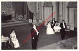 Koninklijke Opera Gent - Gala 18 April 1956 - Foto 11x17cm - Gesigneerd Door Jean Laffont - Photos