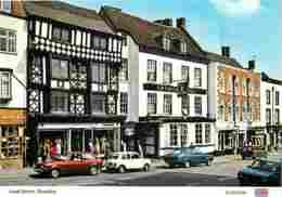 Automobiles - Voitures De Tourisme - Royaume-Uni - Bewdley - Load Street - Voir Scans Recto-Verso - Passenger Cars