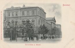 Bucuresci- Universitatea Si Muzeul - Romania