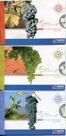 Argentine - 2007 - Yt C2647/C2649/C2651 - Paysages Et Vignobles - Nauquén - Catamarca - La Rioja - Carnets ** - Argentina
