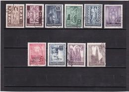 Österreich, Nr. 791/800, Gest. (T 12653) - 1945-.... 2ème République
