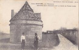 BERG19-  BRANTOME  EN DORDOGNE ANCIENNE TOUR D'ENCEINTE SUR LA ROUTE DE PIERRE LEVEE - Brantome