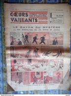 COEURS VAILLANTS 1936 N° 4 LE RAYON DU MYSTERE TINTIN ET MILOU AU MOYEN ORIENT - Tintin