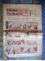 COEURS VAILLANTS 1936 N° 5 LE RAYON DU MYSTERE TINTIN ET MILOU AU MOYEN ORIENT - Tintin