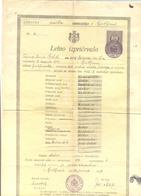 GODISNJE SVEDOCANSTVO,LETNO IZRICEVALO YEAR 1927 - Diplomas Y Calificaciones Escolares