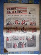 COEURS VAILLANTS 1936 N° 7 LE RAYON DU MYSTERE TINTIN ET MILOU AU MOYEN ORIENT - Tintin