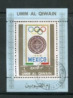 UMM AL-QIWAIN- Timbre Oblitéré - Verano 1968: México