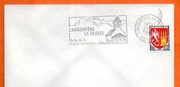 L'ARGENTIERE LA BESSEE   LA HAUTE MONTAGNE 1965 Lettre Entière N° BC 57 - Storia Postale