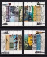 ISRAEL, 1992, Unused Stamp(s), With Tab, Railways Jaffa-Jerusalem, SG1170-1173, Scannr. 17898 - Israel