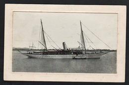 SULINA (Roumanie): Plan TOP Sur Le Yacht Carolus Primus, RARE Carte Photo écrite, Circa En 1911 - Roumanie
