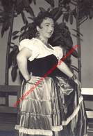 Renee Varly - Koninklijke Opera Gent - Opera La Forde Du Destin 1957 - Foto 10x14,5cm - Photos