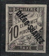 DIEGO-SUAREZ          N°  YVERT  : TAXE 8  NEUF AVEC  CHARNIERES      (  CH  01/12 ) - Diégo-Suarez (1890-1898)