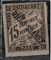 DIEGO-SUAREZ          N°  YVERT  : TAXE 9       NEUF AVEC  CHARNIERES      (  CH  01/12 ) - Diégo-Suarez (1890-1898)