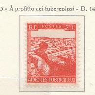 PIA - FRA - 1945 : Aiuto Ai Tubercolosi - (Yv  736) - Malattie