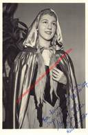 Lia Rottier - Koninklijke Opera Gent - Opera Carmen 1957 - Foto 11x17cm Gehandtekend/signed - Photos
