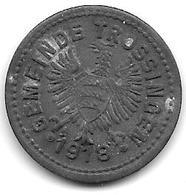 *notgeld Trossingen 10 Pfennig 1918   Zn  550.2b - [ 2] 1871-1918 : German Empire