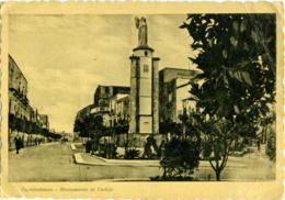 CASTELVETRANO  TRAPANI  Monumento Ai Caduti  Annullo Misurata  Sliten  Libia - Trapani