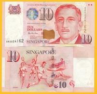 Singapore 10 Dollars P-40 1999 UNC Banknote - Singapur