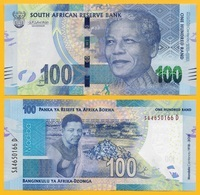 South Africa 100 Rand P-146 2018 Commemorative Nelson Mandela UNC - Sudafrica