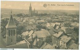 Arlon; Vue Vers La Cathédrale - Voyagé. (A. Dohmen - Bruxelles) - Arlon