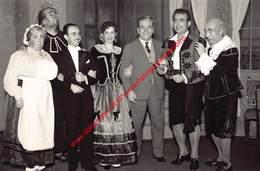 Koninklijke Opera Gent - Opera Il Barbieri De Seviglia 22 Januari 1958 - Foto 10,5x16cm - Photos