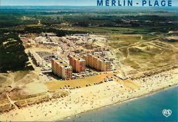 Cpsm St Hilaire De Riez, Merlin-plage - Saint Hilaire De Riez