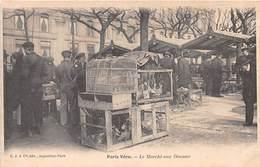 CPA PARIS Vécu - Le Marché Aux Oiseaux - Francia