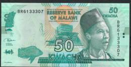 MALAWI P64e 50 KWACHA  1.6.2018   #BR     UNC - Malawi