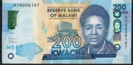 MALAWI NLP ? (b)  200 KWACHA  1..1.2019   #AY    UNC - Malawi