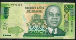 MALAWI  P67c  1000 KWACHA  1..1.2017   #BX Or BY  Choice !   UNC - Malawi