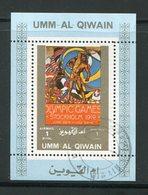 UMM AL-QIWAIN- Timbre Oblitéré - Sommer 1912: Stockholm