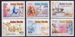 Cape Verde MNH Set - Medizin